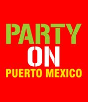 Бейсболка Party on Puerto Mexico