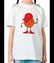 Детская футболка  Печенье в кепочке