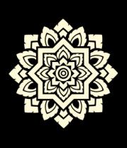 Женская майка борцовка Орнамент мозаика (свет)
