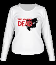Женская футболка с длинным рукавом Ходячие Мертвецы