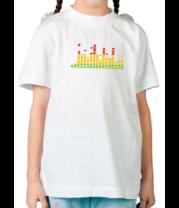Детская футболка  Эквалайзер