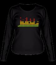 Женская футболка с длинным рукавом Эквалайзер