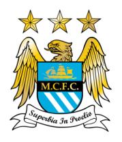 Женская футболка с длинным рукавом FC Manchester City Emblem