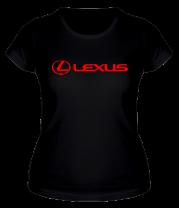 Женская футболка  Lexus