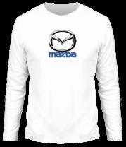 Мужская футболка с длинным рукавом Mazda