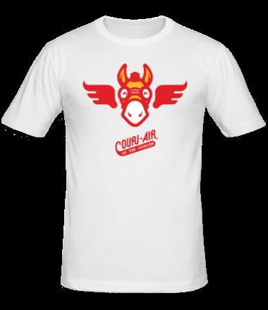 Мужская футболка  Up the courier