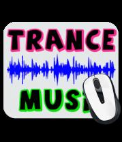 Коврик для мыши Trance music