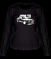Женская футболка с длинным рукавом BMW M3