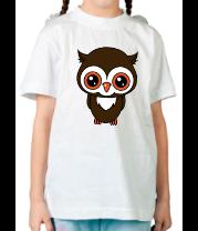 Детская футболка  Совушка