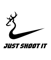 Толстовка Just shoot it