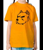 Детская футболка  Пёс