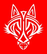 Футболка поло мужская Голова волка