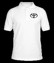 Футболка поло мужская Toyota big logo