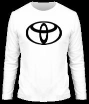 Мужская футболка с длинным рукавом Toyota big logo