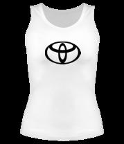 Женская майка борцовка Toyota big logo