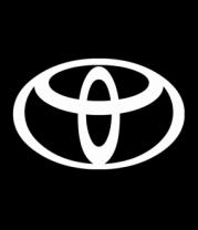 Женская футболка  Toyota big logo