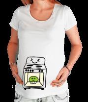 Футболка для беременных Духовка и кексик