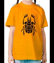 Детская футболка  Жук скарабей