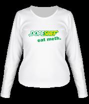 Женская футболка с длинным рукавом Dope Shef - Eat Meth