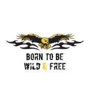 Детская футболка  Рожден что б быть свободным