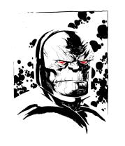Детская футболка  Дарксайд (Darkseid)