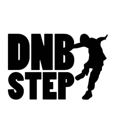 Детская футболка  DNB Step танцор