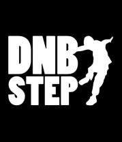Мужская футболка  DNB Step танцор