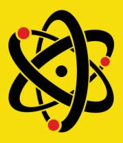 Детская футболка  Атом