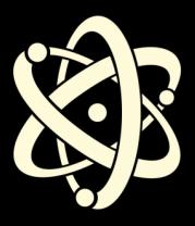 Детская футболка  Атом (свет)