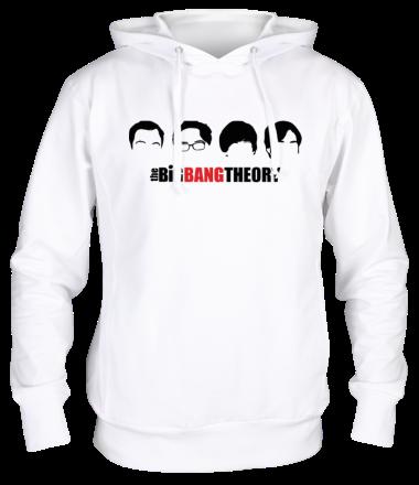Толстовка The Big Bang Theory (face)