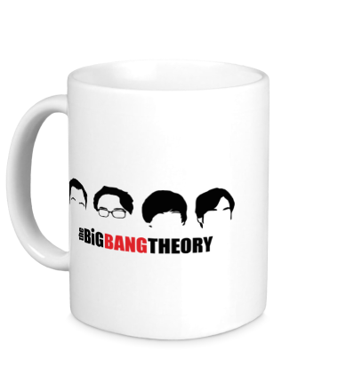 Кружка The Big Bang Theory (face)