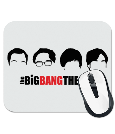 Коврик для мыши The Big Bang Theory (face)