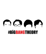 Толстовка без капюшона The Big Bang Theory (face)