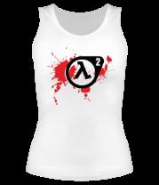 Женская майка борцовка Half-Life 2 (logo)