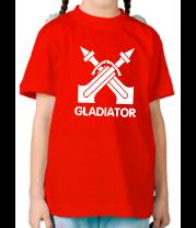 Детская футболка  Human Fighter - Gladiator