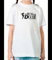 Детская футболка  The Step of DNB