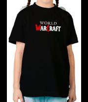 Детская футболка  World of Warcraft