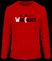 Мужская футболка с длинным рукавом World of Warcraft