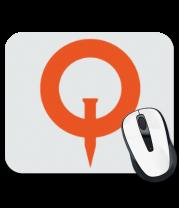 Коврик для мыши Quake (logo)