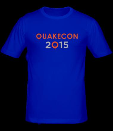Мужская футболка  Quakecon 2015