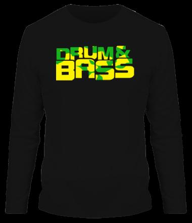 Мужская футболка с длинным рукавом Drum & Bass