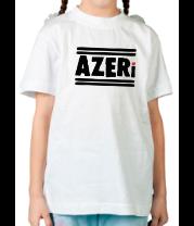Детская футболка  Azeri