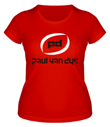 Женская футболка  Paul Van Dyk