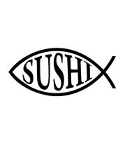 Женская футболка с длинным рукавом Sushi