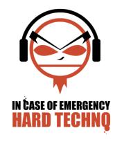 Женская футболка с длинным рукавом Hard Techno