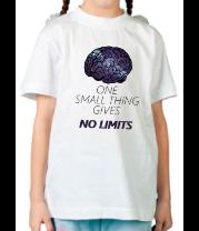 Детская футболка  Brain