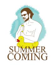 Бейсболка Summer is coming