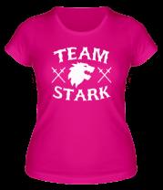 Женская футболка  Team Stark