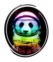 Толстовка без капюшона Panda Space