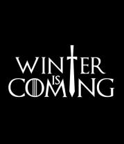 Женская майка борцовка Игра престолов - Зима близко